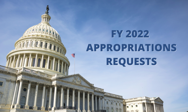 FY2022 Rep Sewell Appropriations requests