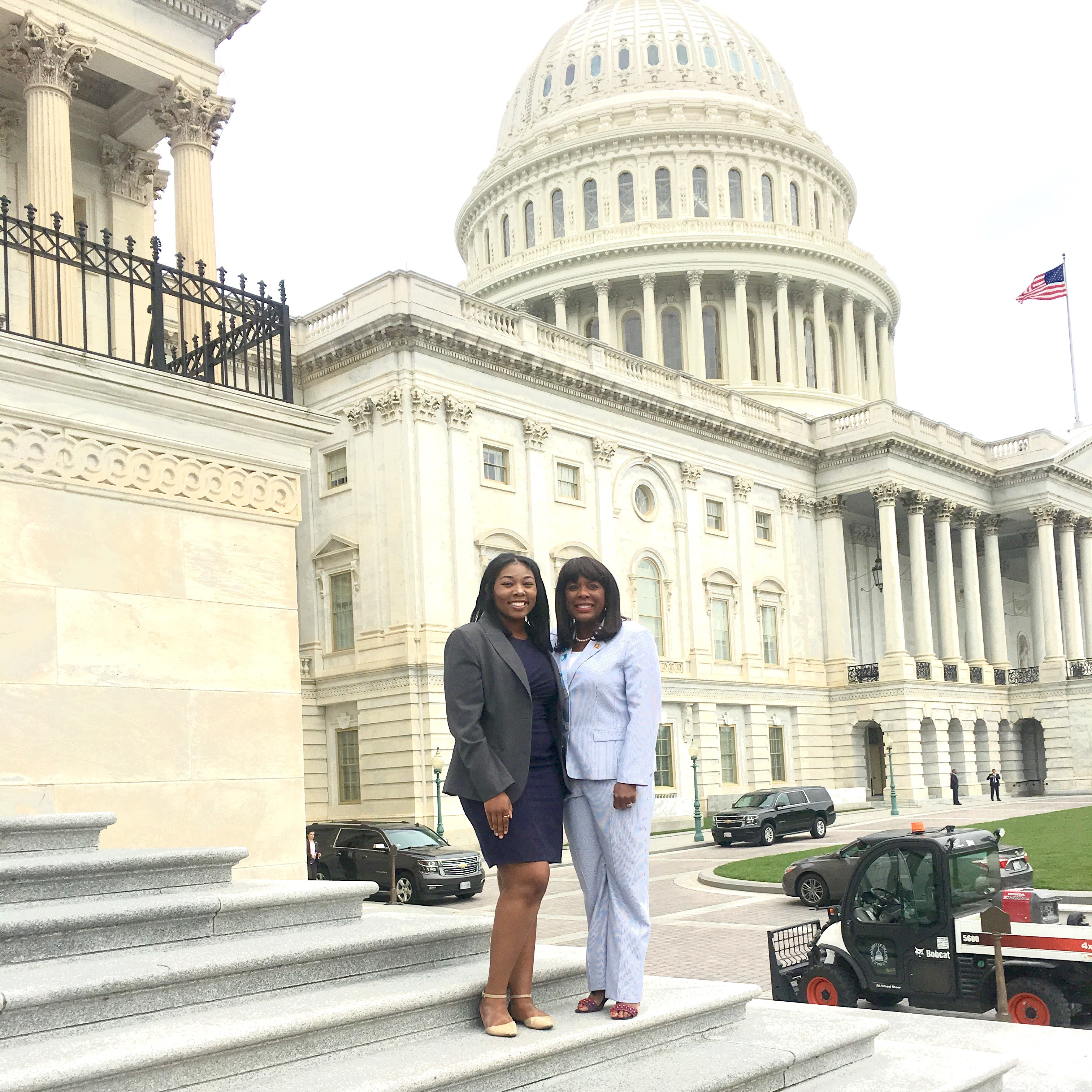 Rep. Sewell meets with Khadejah Moore at the Capitol